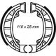 Ganasce freno post. ET4 /Free - Runner 50 -Zip