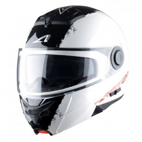 Casco Astone Modulare RT800EX-STRIPES-WHB