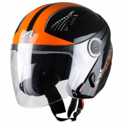 Casco Astone DJ10 BALISTIC BLACK/ORANGE