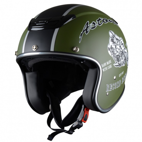 Casco Astone SPORTGEX-REGM Record Green